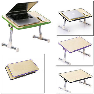 Portable Laptop Desk Adjustable Stand Sofa Bed Lap Tray