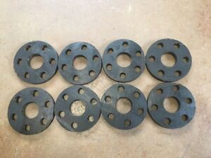 Details about Set of 8 Rhino Bush Hog Hardee Sidewinder rotary cutter flex  coupler rubber disc