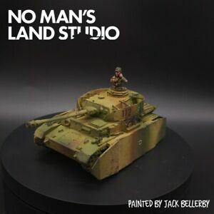 Pro-Painted-28mm-Bolt-Action-panzer-IV-tank-commander-not-included-1-56-scale
