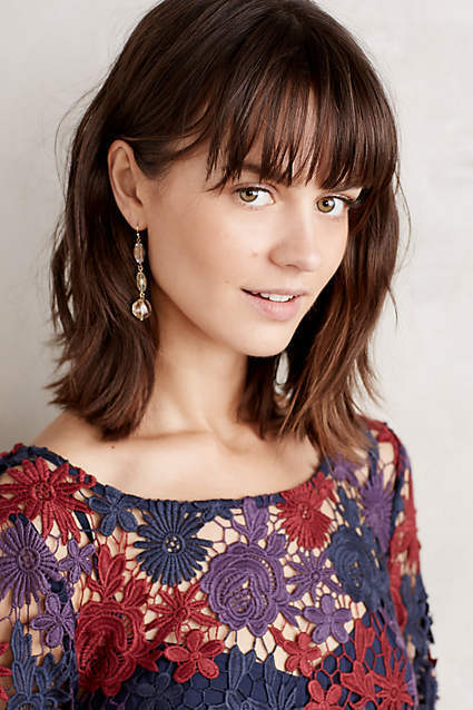 NWT New Anthropologie Moulinette Soeurs Lace Harvest Blooms Blooms Blooms Dress Crochet Sz 6 ae2798