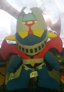 Details about Mazinger Z Robot Go Nagai Vintage Anime Plush 7