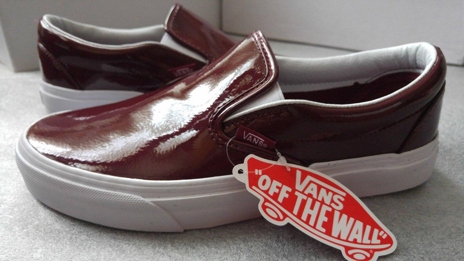 Vans Vans Vans women's burgundy slip-on size 6.5UK (40EU) 5e622d