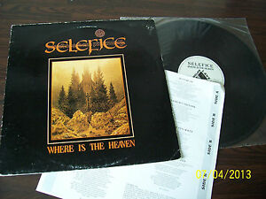 Selefice - Where Is the Heaven  [1988] LP