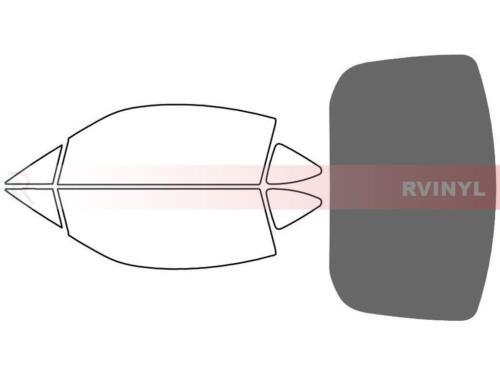 20/% Rtint Window Tint Kit for Scion FR-S 2013-2016 Back Kit
