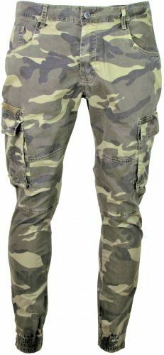 Armee Hose - Army Pants - Tarnfarben - Tarnmuster - Camouflage - Reißverschlüße