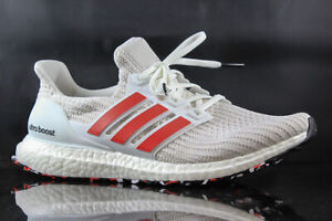 Details about MENS RUNNING SHOE ADIDAS ULTRABOOST DB3199 WHITE RED SIZE: 8