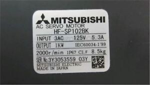 1Pc New Mitsubishi Servo Motor HF-SP102BK ki