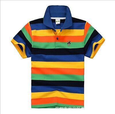 New 95%cotton kids children clothes tops tee boys kids short sleeve t shirt