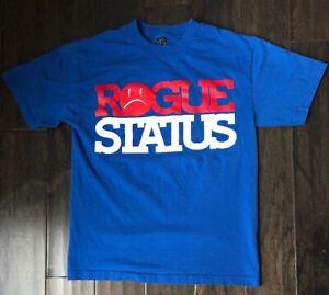 Rogue-Status-Spell-Out-T-shirt-Size-Medium