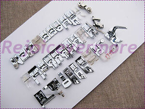 Kenmore Super High Shank Feet Jumbo Set for Sewing Machines Models Listed