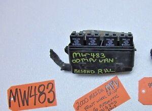 mazda mpv fuse box relay wire panel harness end clip 2.5l engine motor auto  car | ebay  ebay