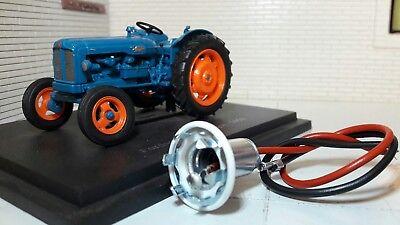 Fordson Dexta Super Major Tracteur Bord Instrument Panneau Câblage /& Ampoule
