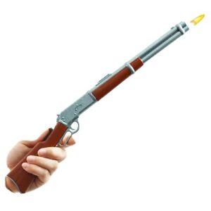 "Cowboy Western Gun LIGHTER [15""]  45 Long Colt REPEATER Lever Action Rifle . HAT"