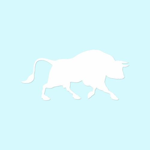 Vinyl Decal Sticker Bull Taurus Multiple Colors /& Sizes ebn2806