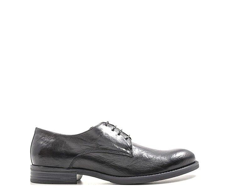 Zapatos Hole B hombre negro naturaleza cuero rams 7065a-ne