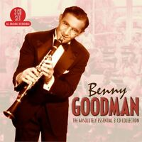 Benny Goodman Absolutely Essential Collection Best Of 60 Songs Sealed 3 Cd