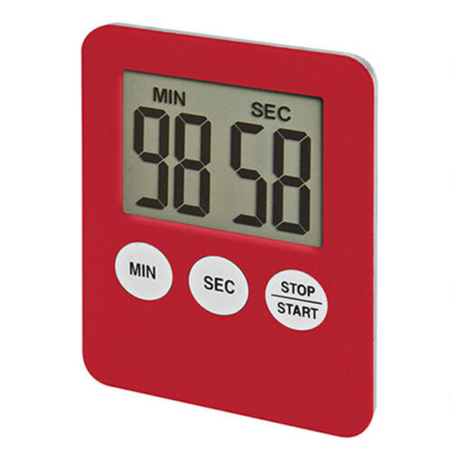 Digital LCD Kitchen Timer Magnetic Pocket Cook Chef Restaurant Egg Counter Alarm