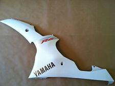 2008-2016  Yamaha YZF R6 Lower Side Fairing Plastic Left White