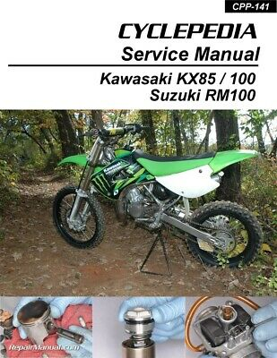 Kawasaki KLX110//L Cyclepedia Printed Motorcycle Service Manual