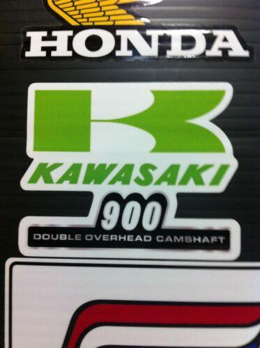 """Kawasaki KZ900 Z1 Z-1 custom decal 3 1//2/""""  1973-74 KZ 900"""