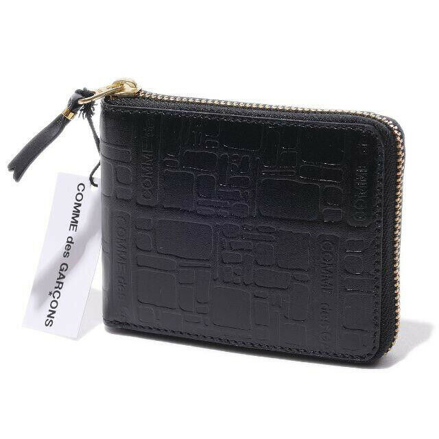 Tagged 2020aw wallet COMME des GARCONS MAN black Cowhide Made in Spain D4934