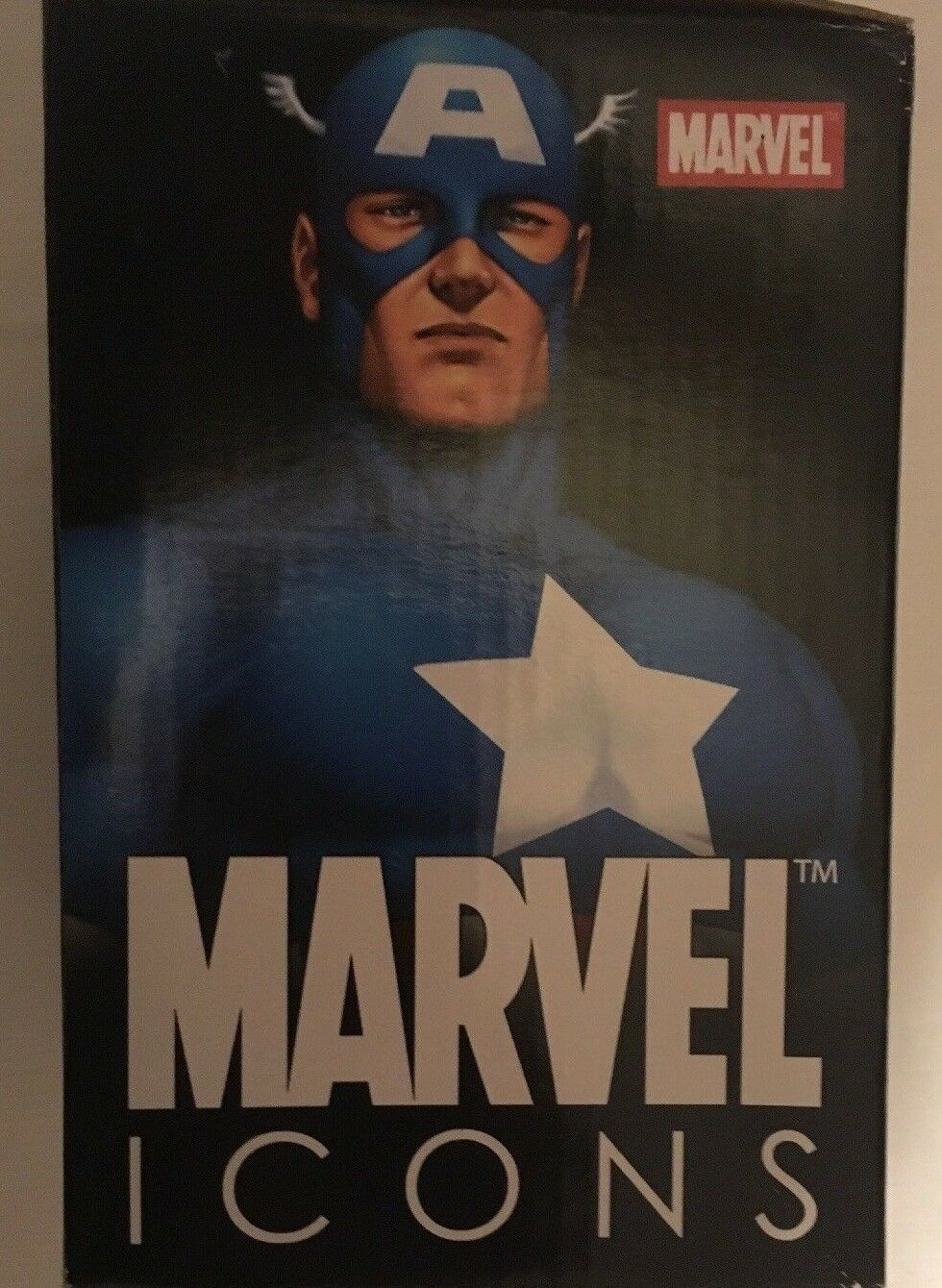 Marvel Icons Captain America Mini Bust (of 5000) 5000) 5000) very low number 356a53