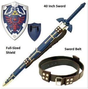 Steel Legend of Zelda Breath of the Wind Cosplay complete