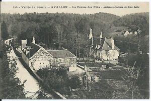 CPA-89-Vallee-du-Cousin-AVALLON-La-Ferme-des-nids