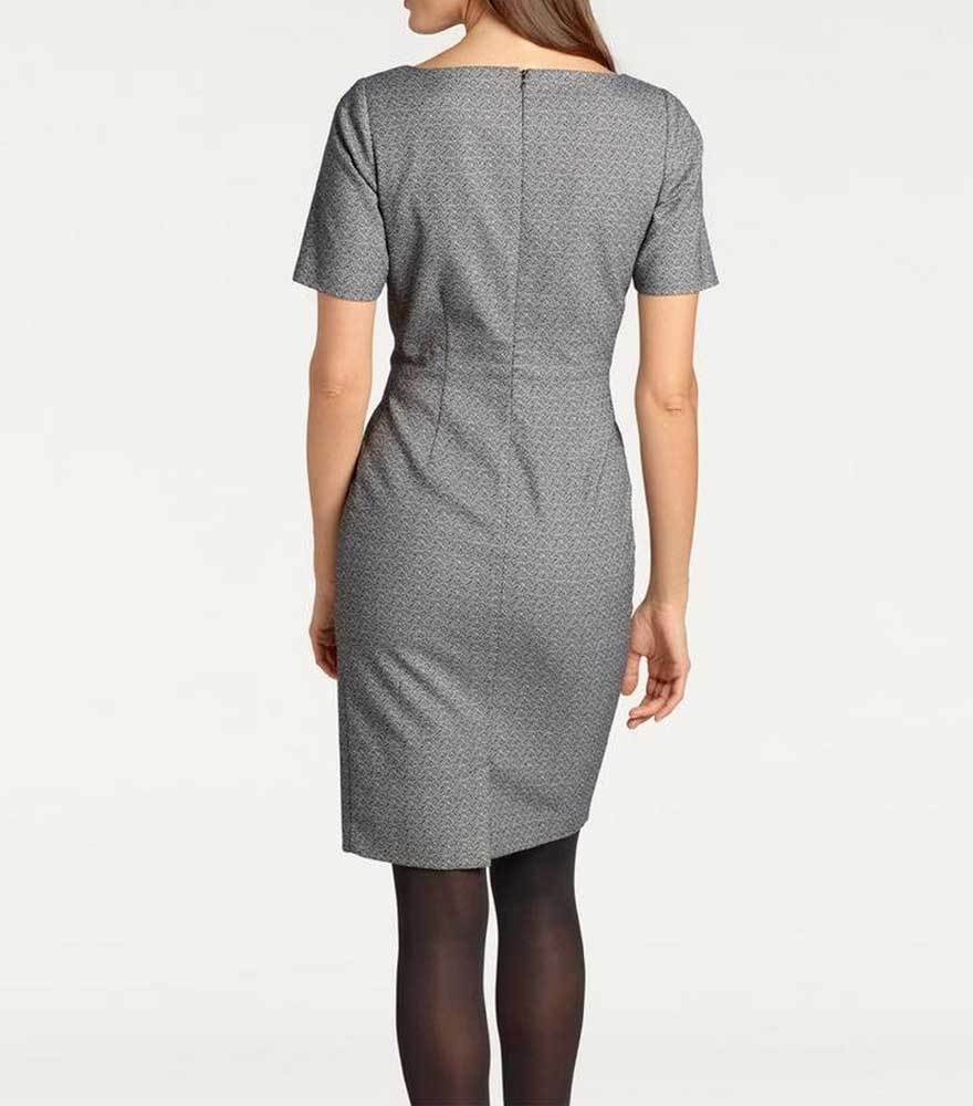 Kleid Etui Kleid Heine PATRIZIA PATRIZIA PATRIZIA DINIDesigner grau Muster figurbetont Gr 40 44 46 | Beliebte Empfehlung  | Zahlreiche In Vielfalt  4cf4a6