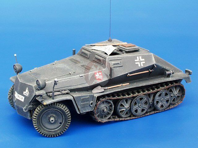 Plus Model 1 35 Sd.Kfz.252 Ammo Carrier WWII Conversion (Tamiya Sd.Kfz.250) 107