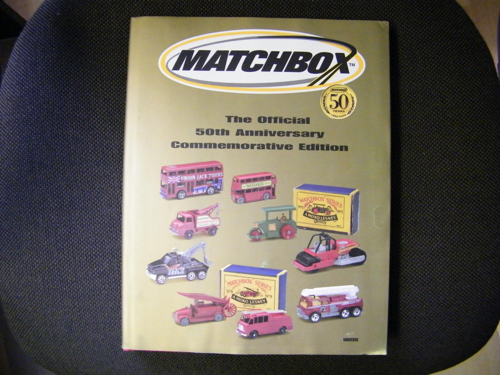 MATCHBOX 50 anni-il libro d'oro-molto ricercati-EDIZIONE LIMITATA 2002