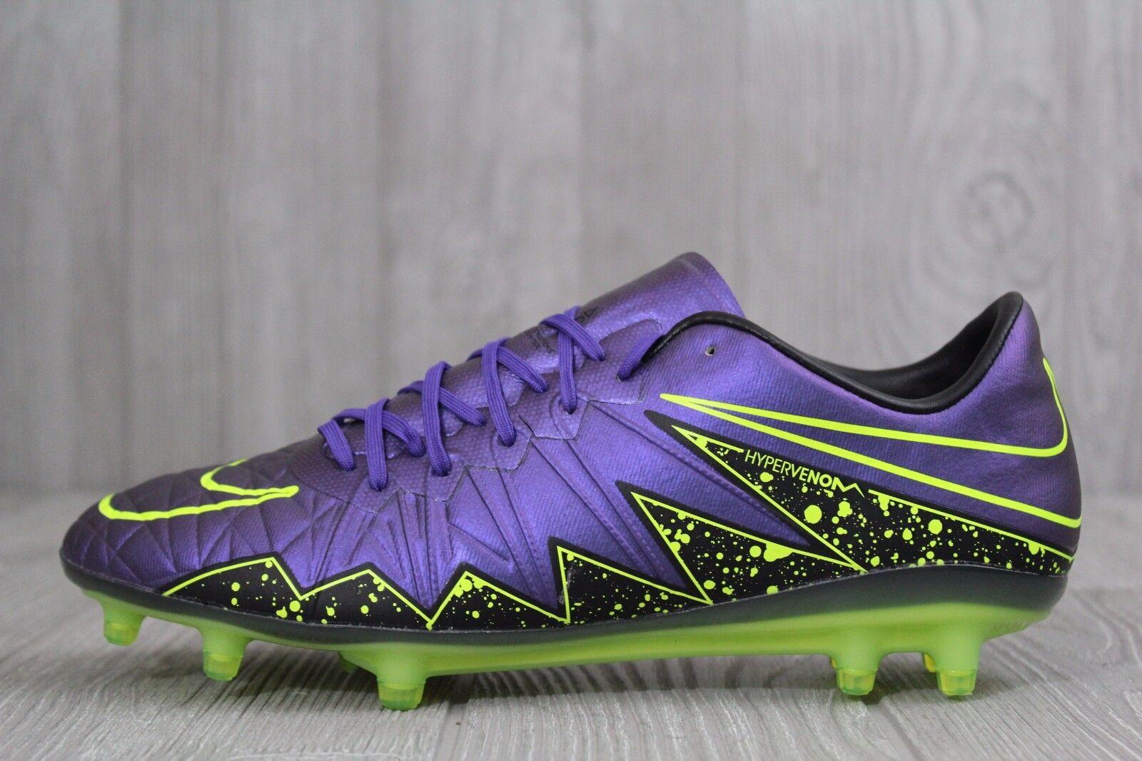 20 Nike Hypervenom Phinish FG Soccer Cleats ACC Grape Size 7 Wmns 8.5 749901-551