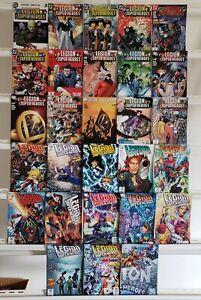 Legion-de-Superheroes-1-50-Vol-5-1-15-38-50-Dc-2005-Juego-Serie-Run-Lote-MB