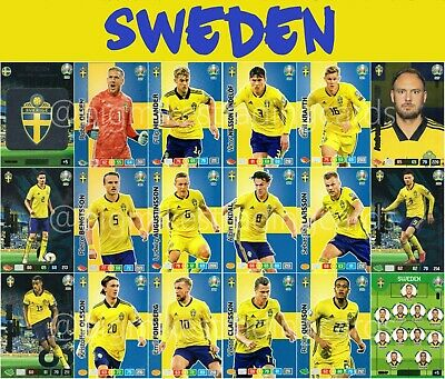 Panini Road to Euro em 2020 Adrenalyn XL set 3-20x Limited Edition
