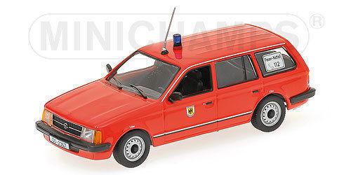1 43 Minichamps Opel Kadett D Feuerwehr