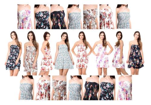 Nouveau Haut Femmes Imprimé Mouchoir Ourlet Évasé Swing Tunique Top Gilet Plus Taille 8-26