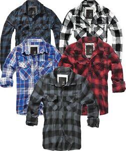 3bf6dc69e5bd Image is loading Brandit-Mens-Shirt-Flannel-Shirt-Flannel-Check-Lumberjack-