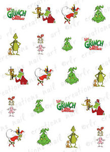 20-Christmas-Nail-Decals-THE-GRINCH-Themed-Assorted-Water-Slide-Nail-Decals