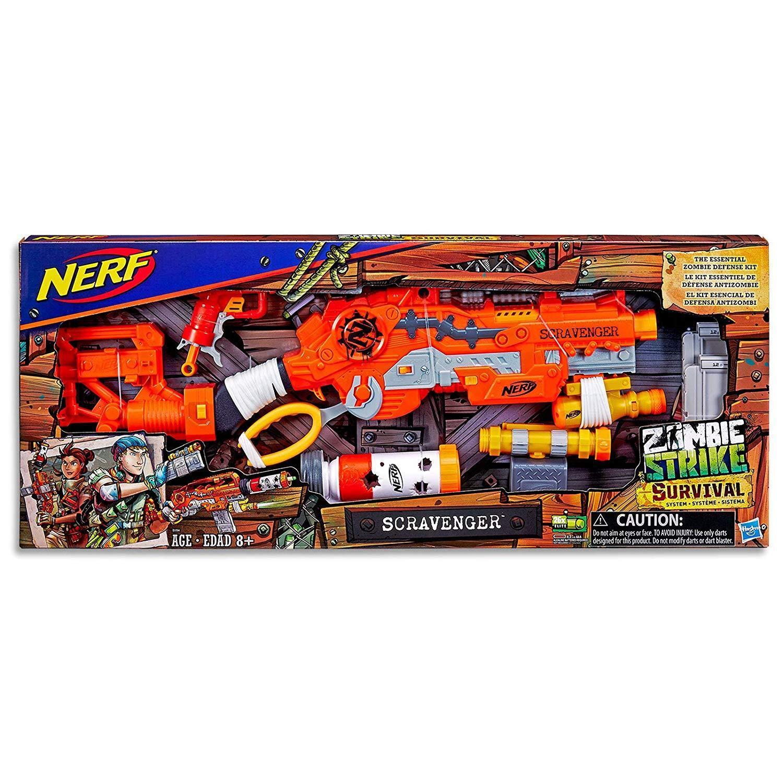 diseñador en linea Nueva Marca Nerf Zombie Zombie Zombie Strike scravenger Dart Blaster  los últimos modelos