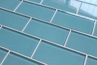 Infinity Blue 3x6 Glass Subway Tiles For Kitchen Backsplash/bathroom