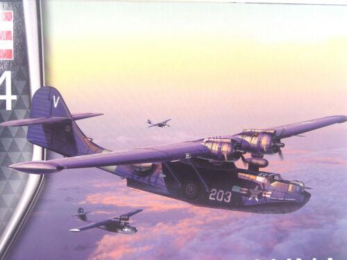 Catalina PBY-5A Flugboot Revell Flugzeug  Bausatz 1:72-03902     #E