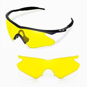 New Walleva Yellow Replacement Lenses For Oakley M Frame ...