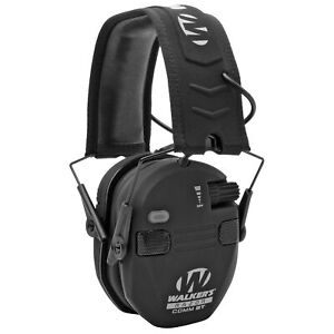 WALKER-039-S-Razor-Smil-Electronic-Quad-Muff-Bluetooth-Earmuff-Sync-w-Mobile-Devices