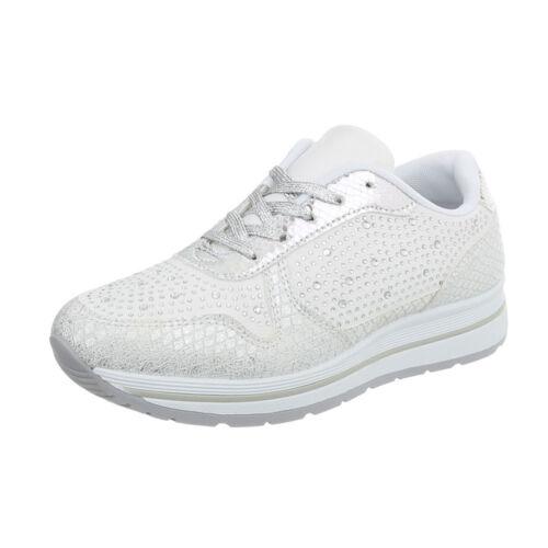 Sneakers Freizeitschuhe Sneakers Low Damenschuhe 9412 Ital-design