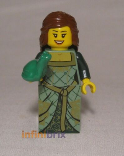 Frog Prince Minifigure set 10223 Castle Kingdoms cas503 Lego Green Princess