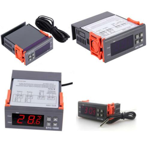 NEW 12V//24V//110V//220V STC-1000 Digital Temperature Controller Thermostat w//NTCK