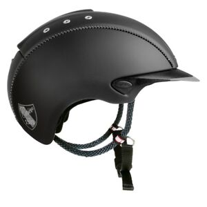 Casco-Mistrall-Farbe-schwarz-Groesse-L-59-62-cm