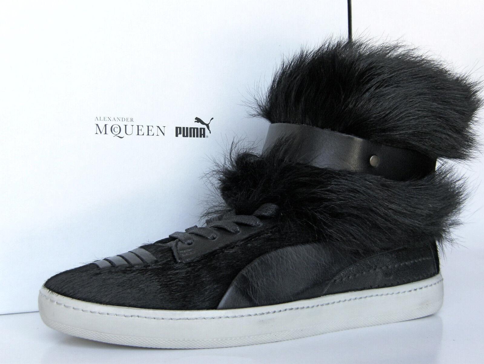 Puma Alexander McQueen McQueen McQueen Joustesse Hi Tenis botas Zapato de piel desgaste 2 maneras de mujer 10.5  Todo en alta calidad y bajo precio.