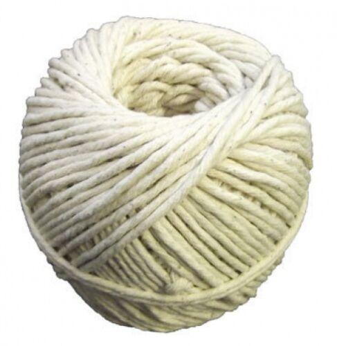 Mill Farm Small Cotton String Medium No.6 125g Approx 95m White C679