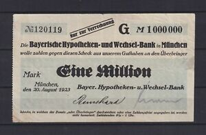 Munich-Bavarois-Hypotheken-et-Wechsel-Bank-1-Million-Mark-L3